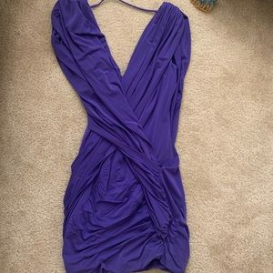 BCBG Purple Prom/Wedding Guest Dress